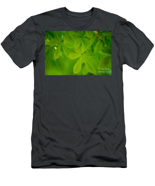 Spring Green Men's T-Shirt (Athletic Fit)