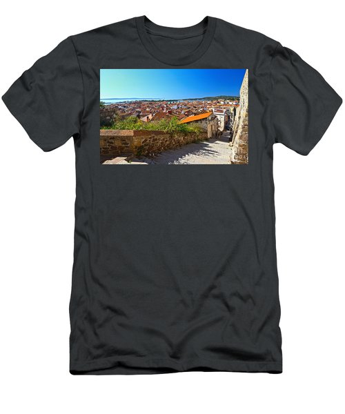 stairway and ancient walls in Carloforte Men's T-Shirt (Athletic Fit)