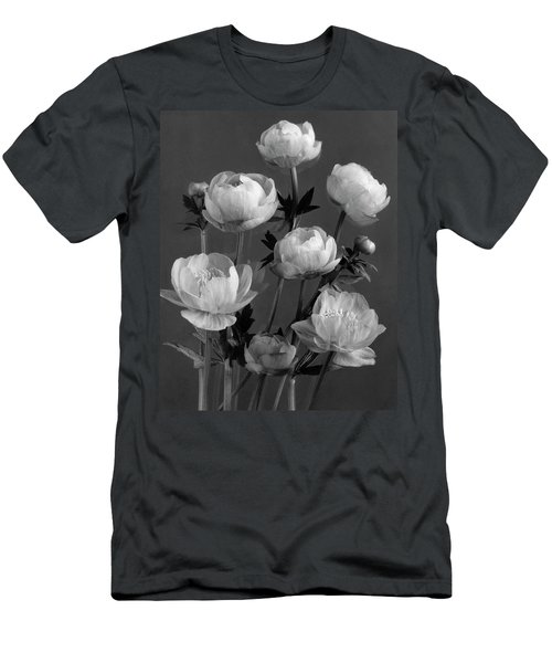 Still Life Of Flowers Men's T-Shirt (Athletic Fit)