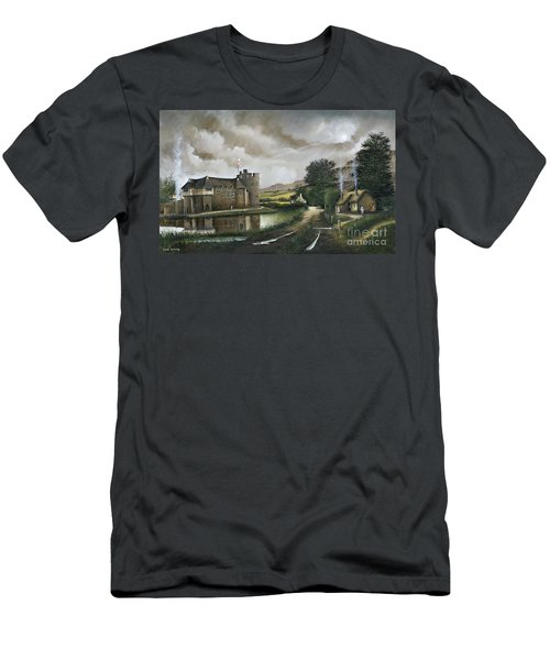Stokesay Castle Men's T-Shirt (Athletic Fit)