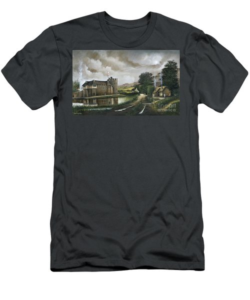 Stokesay Castle Men's T-Shirt (Athletic Fit)