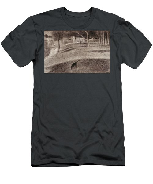 Study For Sunday Afternoon On The Island Of La Grande Jatte Men's T-Shirt (Athletic Fit)