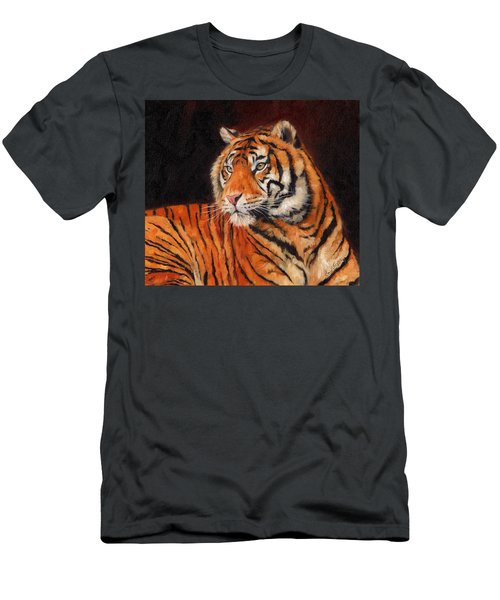 Sumatran Tiger  Men's T-Shirt (Slim Fit)
