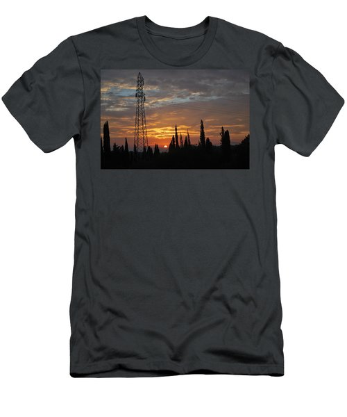 sunrise in Corfu 2 Men's T-Shirt (Athletic Fit)