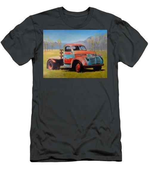Taos Truck Men's T-Shirt (Athletic Fit)