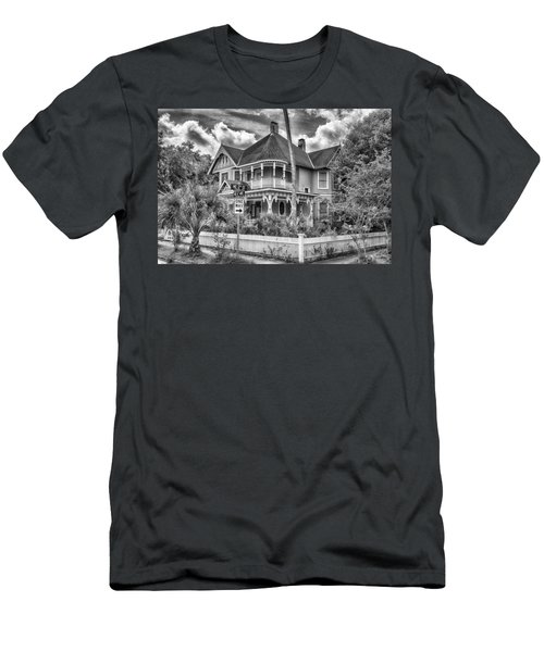 The Gingerbread House Men's T-Shirt (Slim Fit) by Howard Salmon