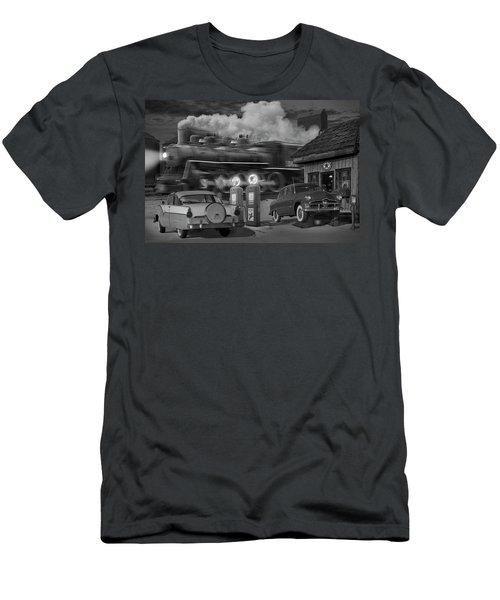 The Pumps Men's T-Shirt (Slim Fit) by Mike McGlothlen