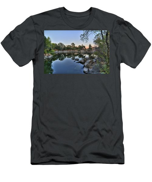 Men's T-Shirt (Athletic Fit) featuring the photograph The Quinn Quarry by Jim Thompson