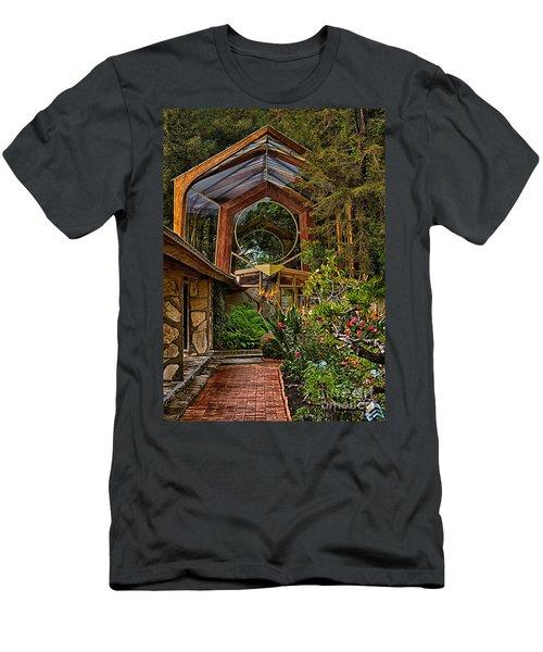 The Wayfarers Chapel Men's T-Shirt (Athletic Fit)