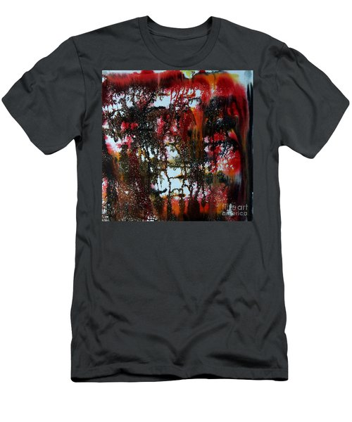 Red Forest Men's T-Shirt (Athletic Fit)