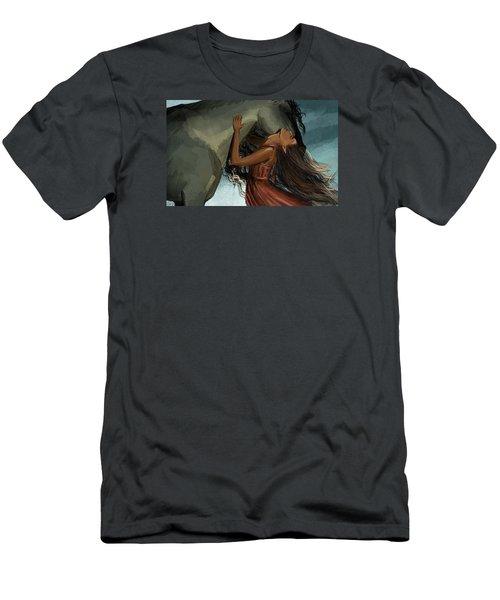 Unity Men's T-Shirt (Slim Fit) by Kate Black