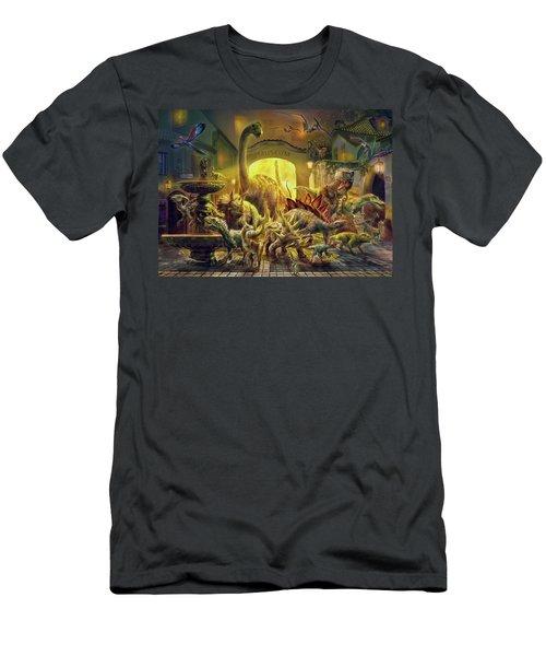 Magical Unicorn Forest Men's T-Shirt (Athletic Fit)
