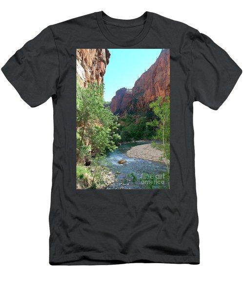 Virgin River Rapids Men's T-Shirt (Athletic Fit)