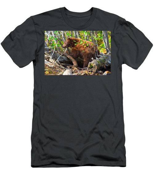 Where The Wild Things Are Men's T-Shirt (Slim Fit) by Scott Warner