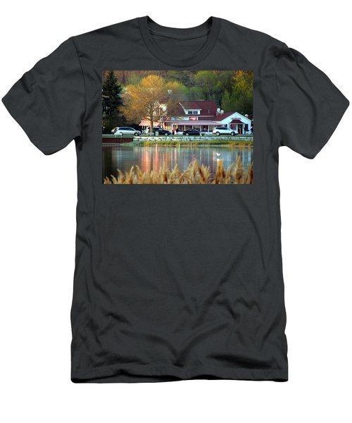 Wilson's Ice Cream Parlor Men's T-Shirt (Slim Fit) by David T Wilkinson
