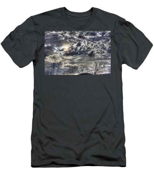 Winter Sky Men's T-Shirt (Slim Fit) by Tom Culver