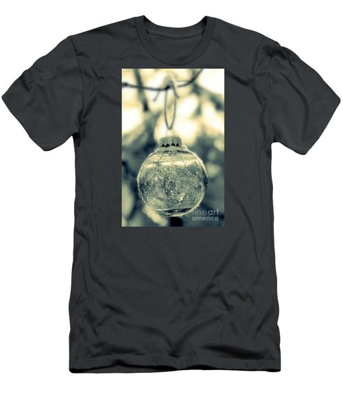 Men's T-Shirt (Slim Fit) featuring the photograph Xmas Ball by France Laliberte