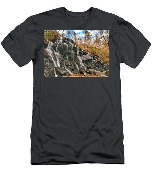 Yellow Branch Falls Men's T-Shirt (Athletic Fit)