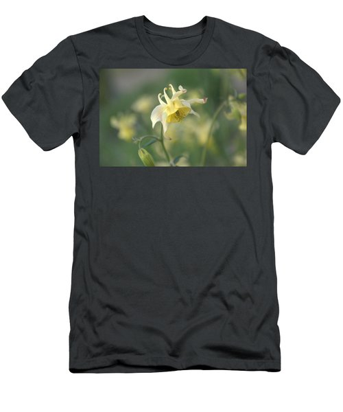 Yellow Columbine Men's T-Shirt (Athletic Fit)