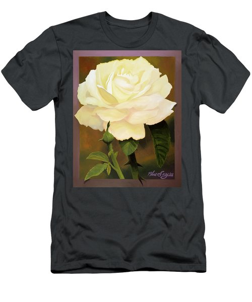 Yellow Rose Men's T-Shirt (Athletic Fit)