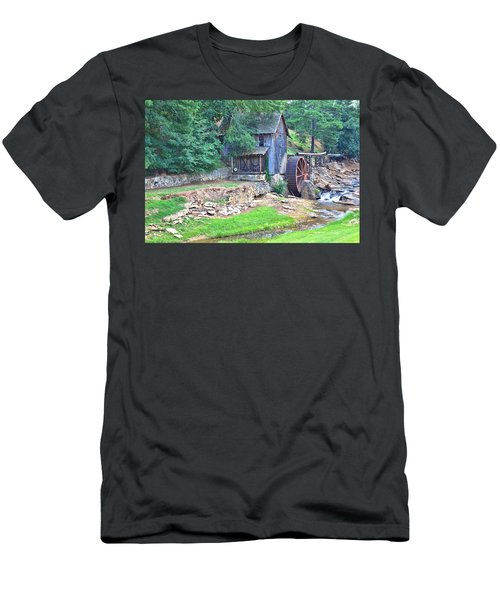 Sixes Mill On Dukes Creek Men's T-Shirt (Athletic Fit)
