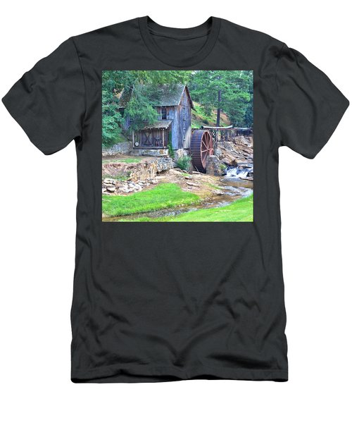 Sixes Mill On Dukes Creek - Square Men's T-Shirt (Athletic Fit)