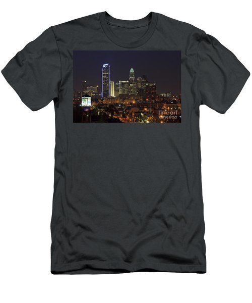 Charlotte Skyline Men's T-Shirt (Athletic Fit)