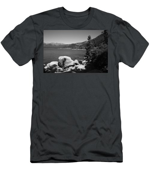 Lake Tahoe Men's T-Shirt (Slim Fit) by Frank Romeo