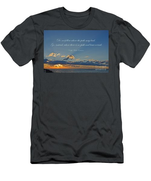 149- Ralph Waldo Emerson Men's T-Shirt (Athletic Fit)