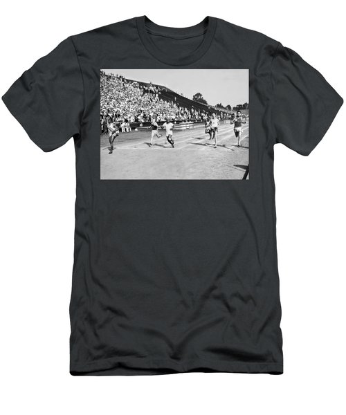 1932 Olympic Track Tryouts Men's T-Shirt (Athletic Fit)