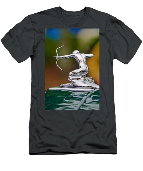1935 Pierce-arrow 845 Coupe Hood Ornament Men's T-Shirt (Athletic Fit)