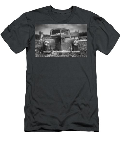 1940 Desoto Deluxe Black And White Men's T-Shirt (Athletic Fit)