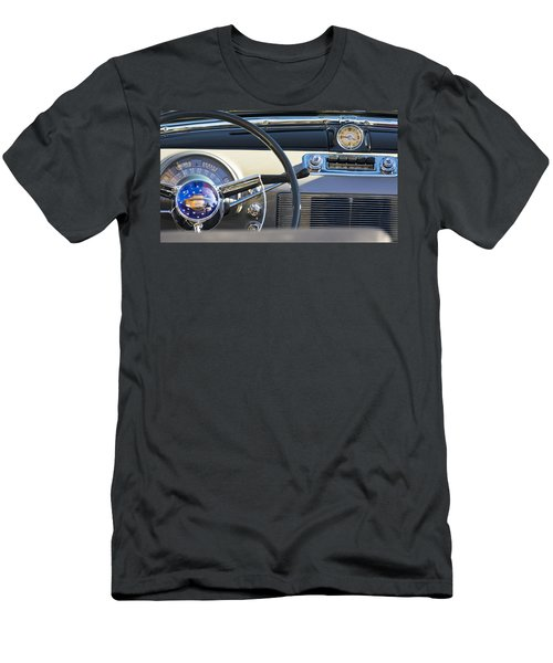 1950 Oldsmobile Rocket 88 Steering Wheel 3 Men's T-Shirt (Athletic Fit)