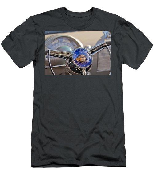 1950 Oldsmobile Rocket 88 Steering Wheel Men's T-Shirt (Athletic Fit)
