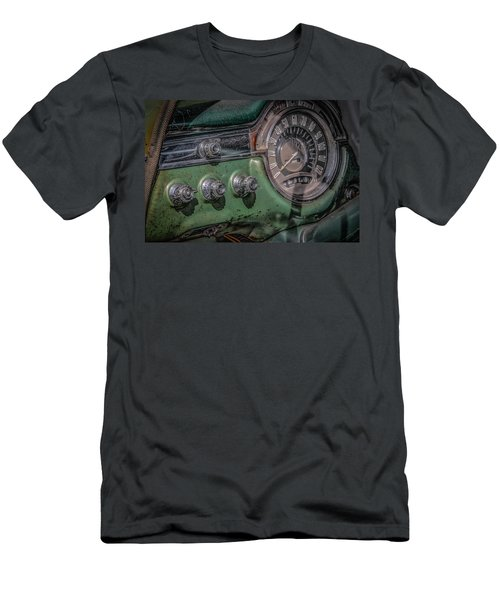 Men's T-Shirt (Slim Fit) featuring the photograph 1953 Oldsmobile by Ray Congrove