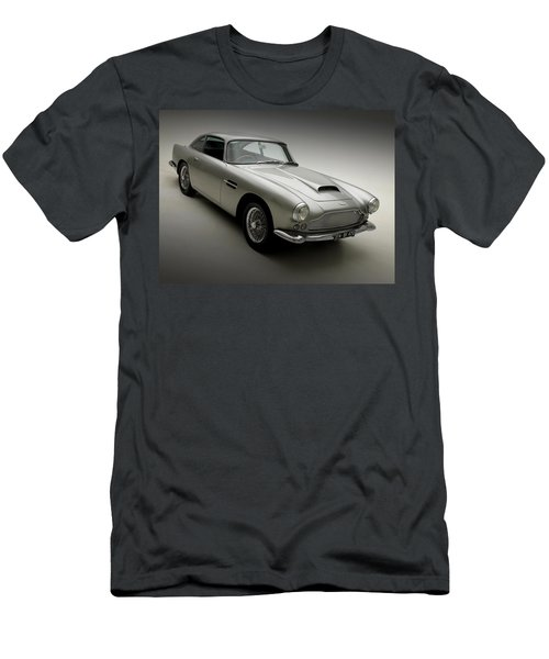 Men's T-Shirt (Slim Fit) featuring the photograph 1958 Aston Martin Db4 by Gianfranco Weiss
