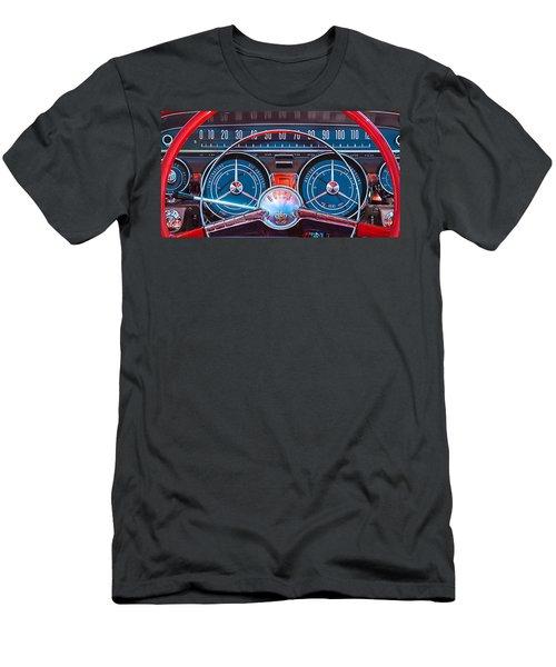 1959 Buick Lesabre Steering Wheel Men's T-Shirt (Athletic Fit)
