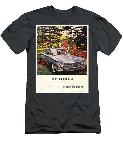 1960 - Buick Lesabre Sedan Advertisement - Color Men's T-Shirt (Athletic Fit)