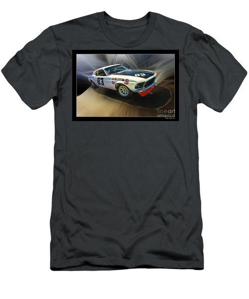 1969 Boss 302 Mustang Men's T-Shirt (Athletic Fit)