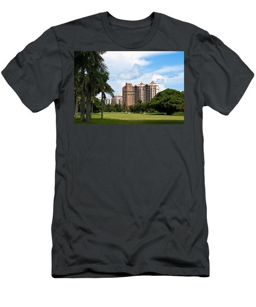 1st Hole At Granada Golf Course Men's T-Shirt (Athletic Fit)