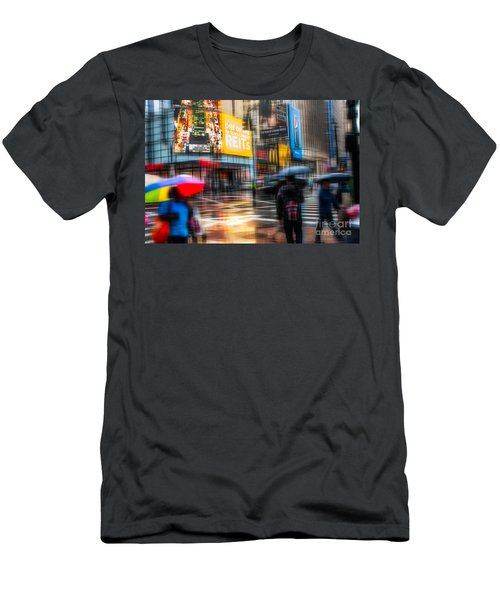 A Rainy Day In New York Men's T-Shirt (Athletic Fit)