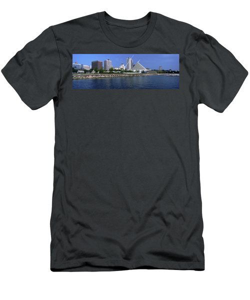 Art Museum At The Waterfront, Milwaukee Men's T-Shirt (Athletic Fit)