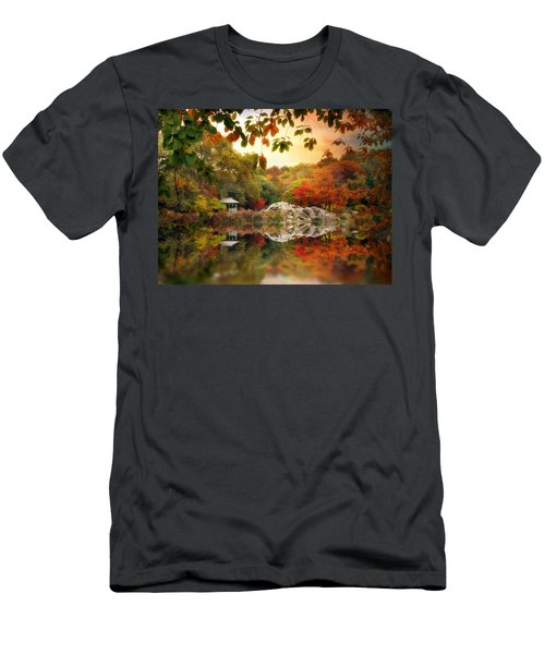 Autumn At Hernshead Men's T-Shirt (Athletic Fit)