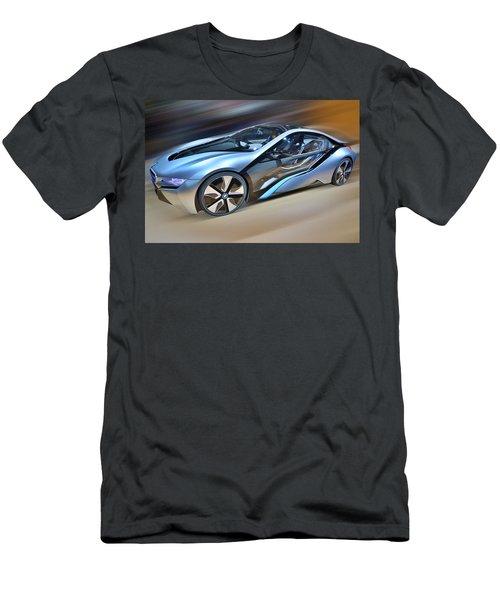 B M W  Edrive I8  Concept  2014 Men's T-Shirt (Athletic Fit)
