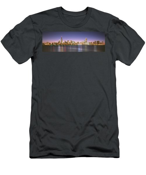 Buildings At The Waterfront, Chicago Men's T-Shirt (Athletic Fit)