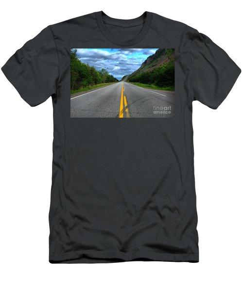 Cabot Trail Men's T-Shirt (Athletic Fit)