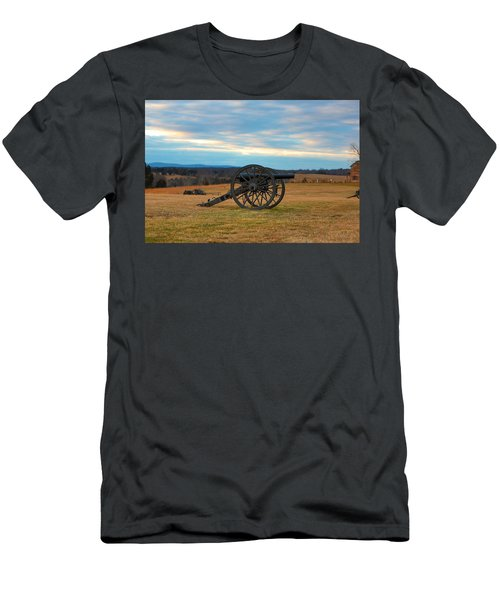 Cannons Of Manassas Battlefield Men's T-Shirt (Athletic Fit)