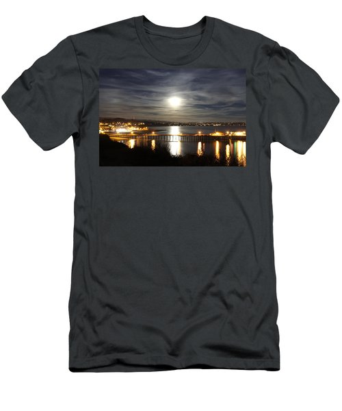 Capitola Moonscape Men's T-Shirt (Athletic Fit)