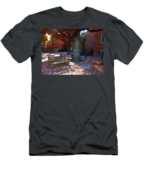 Men's T-Shirt (Slim Fit) featuring the photograph College Of William And Mary by Jacqueline M Lewis