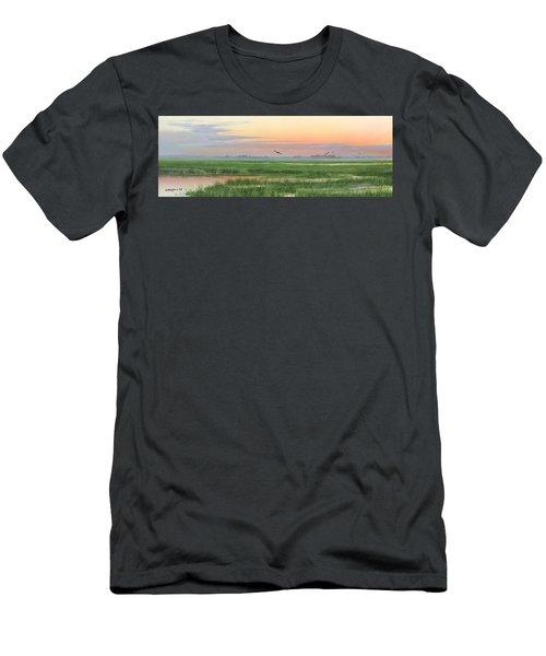 Divine Whisper Men's T-Shirt (Athletic Fit)